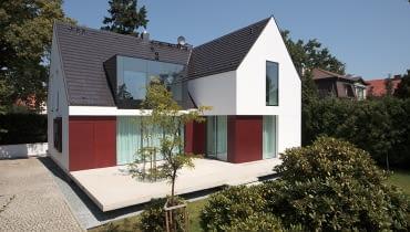 Przebudowany jednorodzinny dom we Wrocławiu