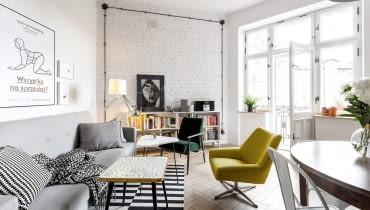 Klimatyczne mieszkanie na warszawskiej Pradze