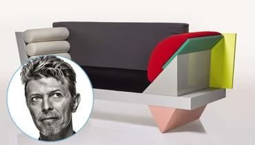 Cenna kolekcja mebli należąca do Davida Bowiego została wystawiona na sprzedaż