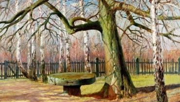 Józef Rapacki, Wiosna, 90 x 120 cm, olej na płótnie, 110 000 zł