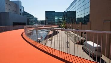 Rowerowy most w Kopenhadze