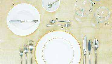 nakrycie stołu, nakrywanie do stołu, stół wielkanocny, zastawa, sztućce