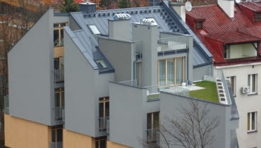 Budynek przy al. Grottgera w Krakowie.