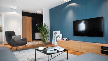 Z zamiłowania do drewna: mieszkanie w Gdańsku