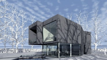 dom jednorodzinny,projekt domu,dom nowoczesny