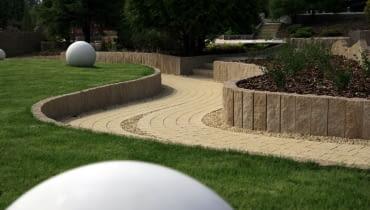 beton, detal, kula z betonu