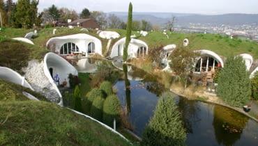 Dom w Dietikon koło Zurychu, proj. Peter Vetsch