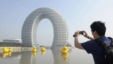 Hotel w chińskim mieście Huzhou