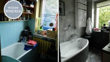 wasze wnętrza, łazienka, metamorfoza, metamorfoza wnętrz