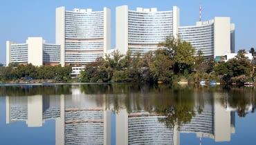 Vienna International Centre, fot. BambooBeast, Wikimedia, CC BY-SA 3.0