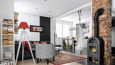 Dom wnętrza dla rodziny, salon, urządzanie wnętrz, aranżacja wnętrz