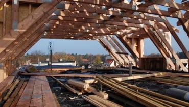 więźba dachowa,dach,konstrukcja dachu,krokwie