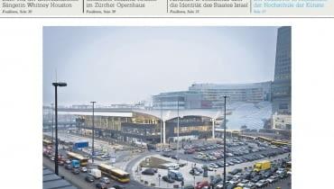 "Felieton o Dworcu Centralnym w ""Neue Zuercher Zeitung"""