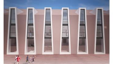 Projekt budynku mieszkalnego na terenie Starego Miasta w Zamościu