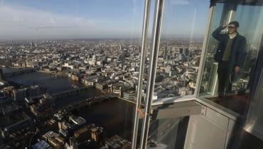 wieżowiec The Shard w Londynie