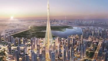 Projekt wieży widokowej w Dubaju