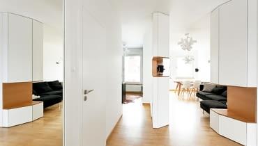 Aviator Apartment, mode:lina, nowoczesne mieszkanie, jasne mieszkanie