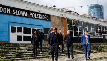 Bjarke Ingels podczas wizyty w Warszawie