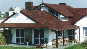 Dachówka bitumiczna cieniowana