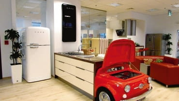 Smeg, salon, design