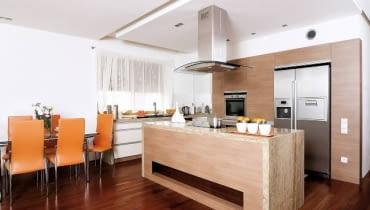 kuchnia, meble kuchenne, wyspy kuchenne