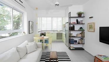mieszkanie, jasne mieszkanie, małe mieszkanie, kawalerka