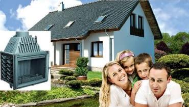 Dom, który wybraliśmy do naszych rozważań, jest zdecydowanie lepiej ocieplony niż wymagają tego przepisy. Mamy bowiem nadzieję, że takie właśnie domy będą coraz częściej budowane.