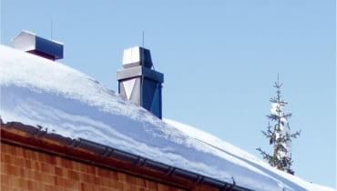 Wentylatory dachowe zapewniają właściwy ciąg niezależnie od wymiarów komina, jego usytuowania i wahań temperatury