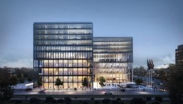 Nowy gmach sądu w Amsterdamie