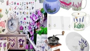dodatki do wnętrz, lawenda, kwiaty, ogród