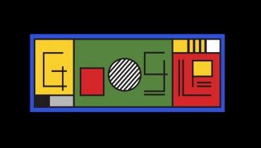 Google Doodle na 100 lat Bauhausu - 12.04.2019