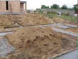 Głębokość posadowienia fundamentów powinna być dostosowana do poziomu wód gruntowych i rodzaju gruntu
