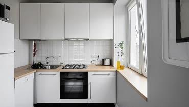 małe mieszkanie, kawalerka, jak urządzić małe mieszkanie, dobrze urządzone małe mieszkanie, jasne małe mieszkanie