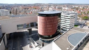 wieżowce, wieżowiec, francja, arte charpentier architects, biurowiec, ekologia, Elithis Tower
