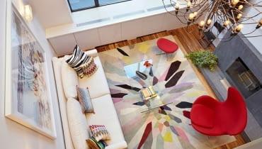 loft, dwupoziomowe mieszkanie, nowoczesne mieszkanie, jak urządzić nowoczesne wnętrze