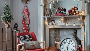 Świąteczne dekoracje w sklepach TK Maxx