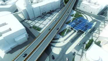 Projekt przebudowy rynku w Chorzowie