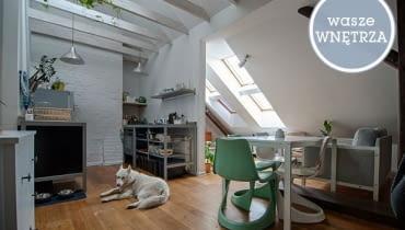 wasze wnętrza, mieszkanie czytelników, mieszkanie na strychu, mieszkanie na poddaszu