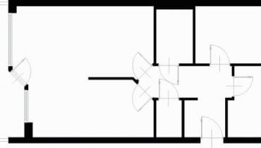 Projektowanie wnętrz. 68,9 m kw. trzypokojowe dla 3 osób