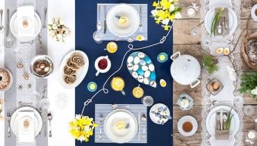 Wielkanocny stół na kilka sposobów