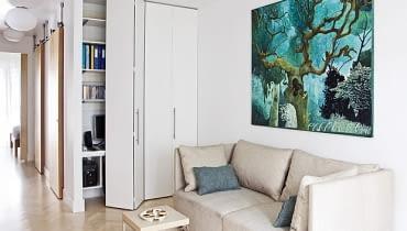mieszkanie, nowoczesne mieszkanie, realizacja, małe mieszkanie