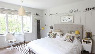 Sypialnia, jak urządzić sypialnie, łóżko