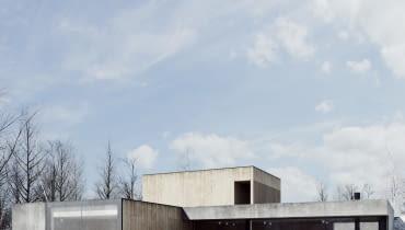 Projekt domu Jasna Rola v.2. Autor: architekt Adam Wysocki, studio DE.MATERIA