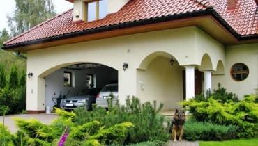 Wygodny garaż może stanowić 25% powierzchni użytkowej średniego domu