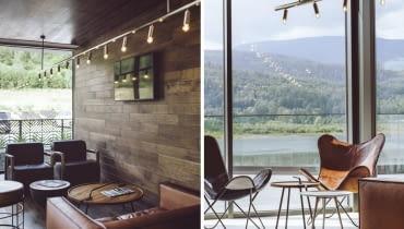 Wnętrza Lake Hill Resort & Spa w Sosnówce koło Karpacza