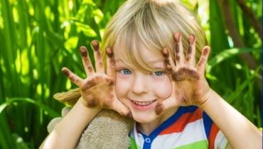 Najlepsza zabawa w ogrodzie i bliski kontakt z ziemią!