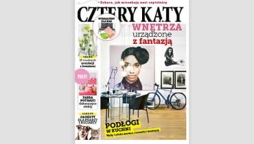 Sierpniowe wydanie magazynu 'Cztery Kąty'