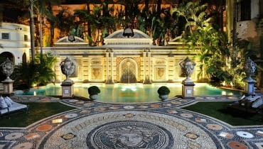 Casa Casuriana, willa Versace, Giani Versace, willa w Miami, luksusowa willa Versace, willa Vesace sprzedana
