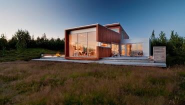 pasywny dom, nowoczesny dom, dom w minimalistycznym stylu
