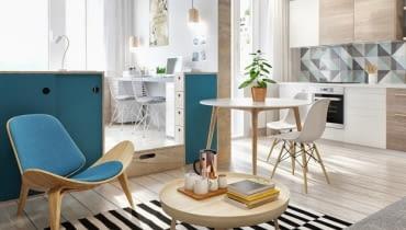 małe mieszkanie, stylowe małe mieszkanie, jak urządzić małe mieszkanie